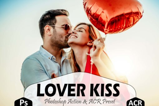 Lover Kiss Photoshop Actions and LUTs Presets