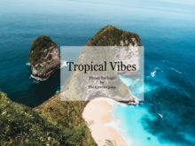 Tropical Vibes Lightroom Presets