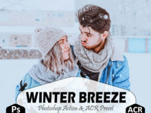 Winter Breeze Photoshop Actions And LUTs Presets