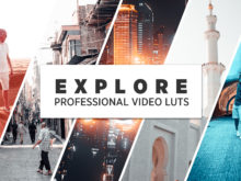 EXPLORE - Red &r5 Teal Travel LUTs