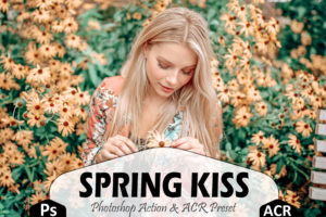 Spring Kiss Photoshop Actions And LUTs Presets