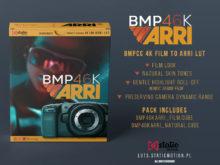 BMPCC 4K / 6K FILM TO ARRI LOOK / BRAW LUTs