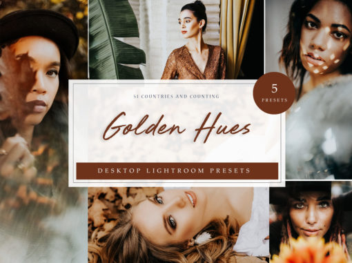 Golden Lightroom Desktop Presets // LR Template