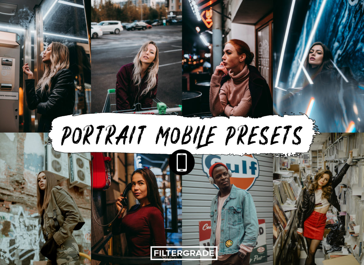 10 PORTRAIT MOBILE PRESETS by @ph_max