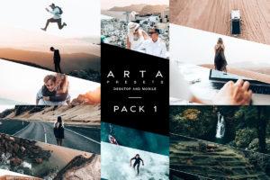 ARTA Preset Pack 1 For Lightroom Mobile and Desktop