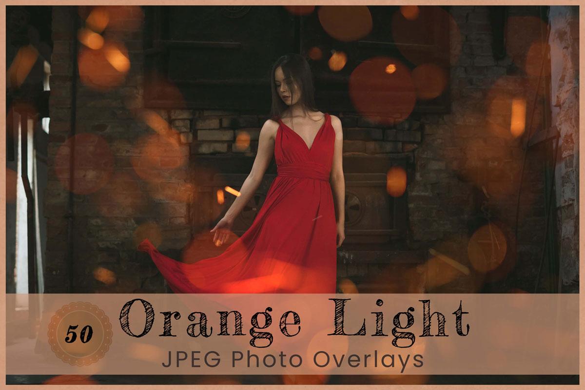 50 Orange Light Digital Overlay Filtergrade