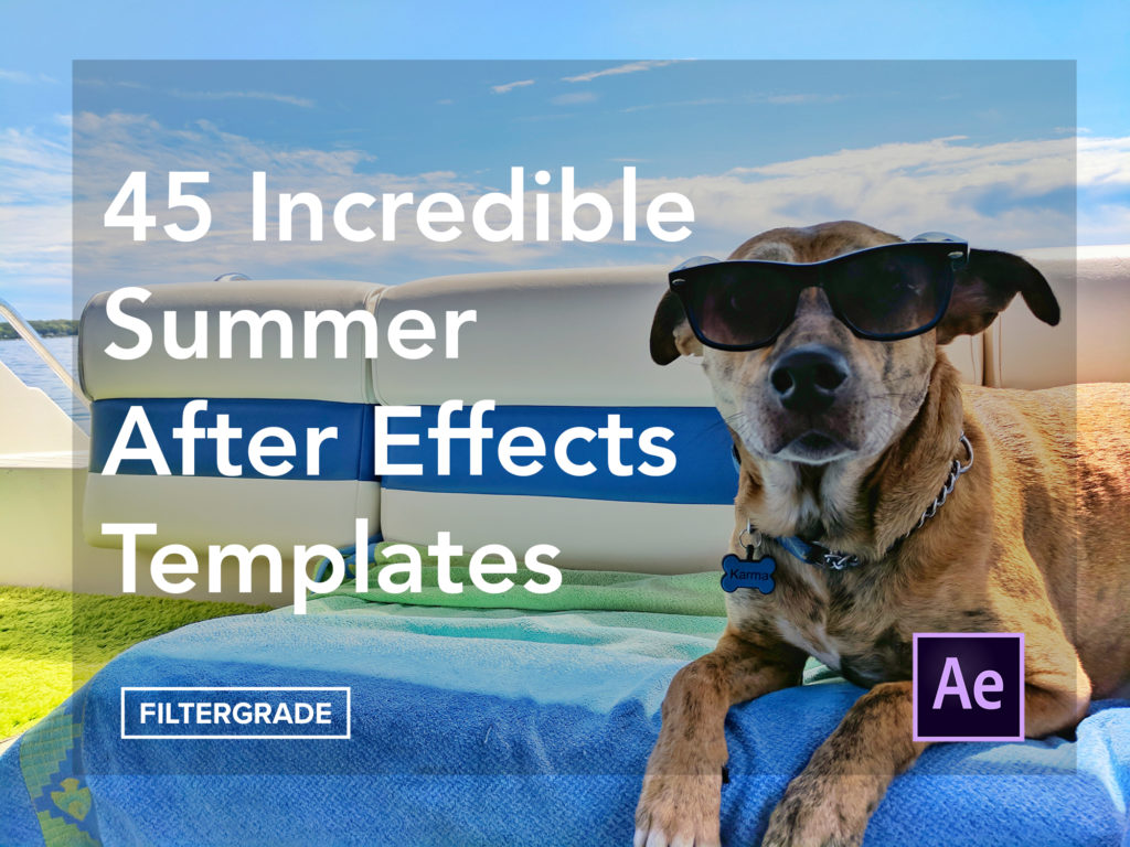 45 Incredible Summer After Effects Templates - FilterGrade
