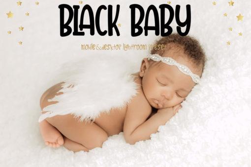 10 Black Baby Mobile & Desktop Lightroom Presets