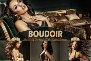 10 Boudoir Mobile & Desktop Lightroom Presets