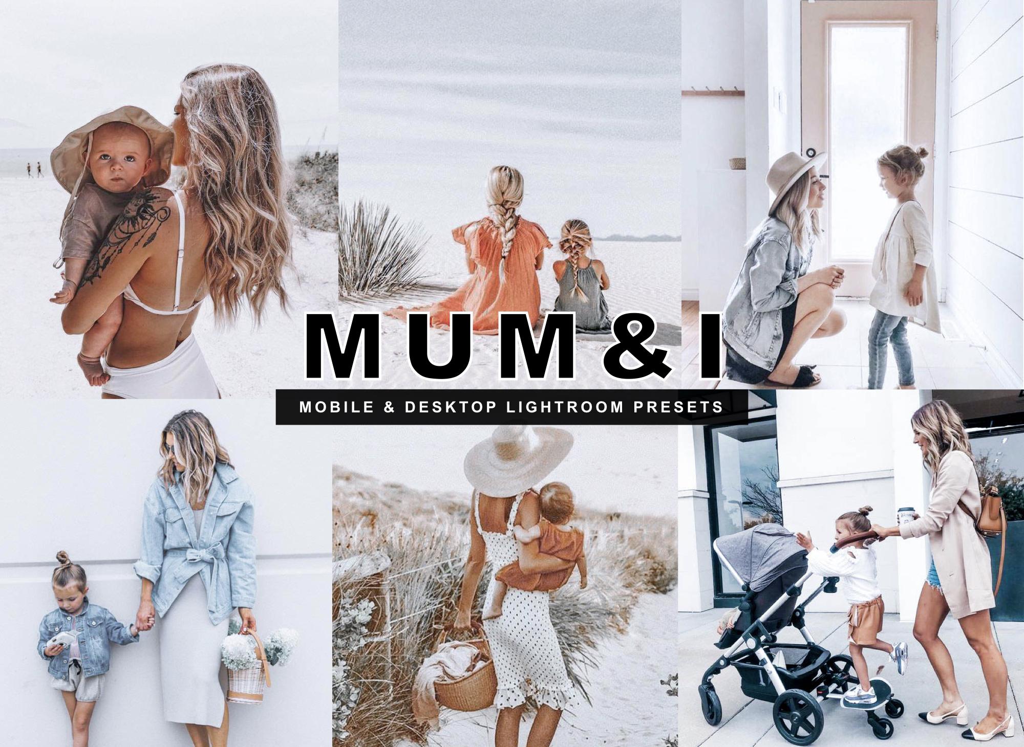 7 Mum & I Blogger Kids Mobile Lightroom Presets