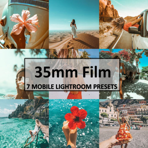 35mm Film Mobile Lightroom Presets