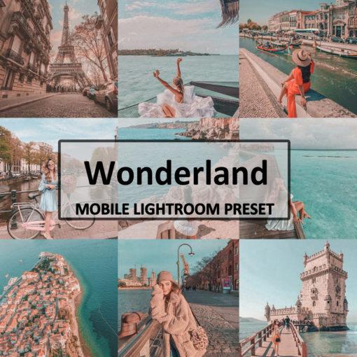 Wonderland Mobile Lightroom Preset