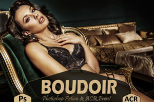 10 Boudoir Photoshop Actions and LUTs