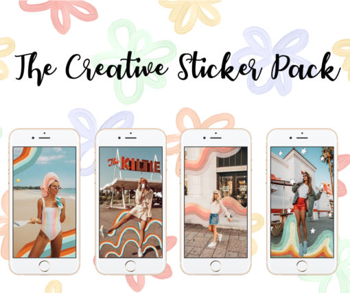 300+ Instagram Stickers / Instagram Story Stickers for Bloggers and Influencers