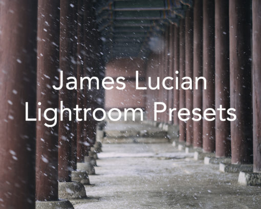 James Lucian Lightroom Presets