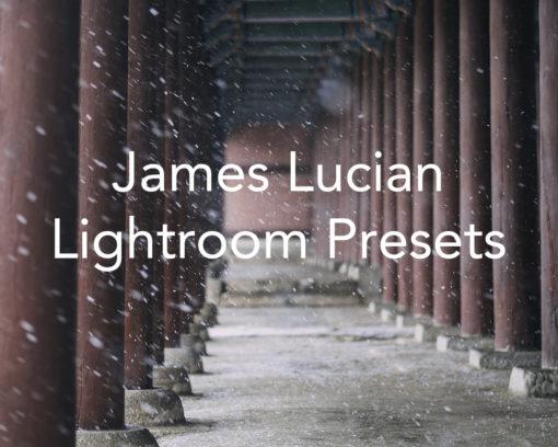 James Lucian Lightroom Presets