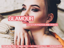 Glamour and Fashion Cinematic LUTS for Videos / Adobe Premiere Pro / After Effects / Final Cut Pro X