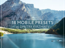 18 MOBILE PRESETS by DMITRY KIRZHAEV