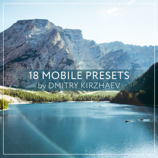 18 MOBILE PRESETS by DMITRY KIRZHAEV