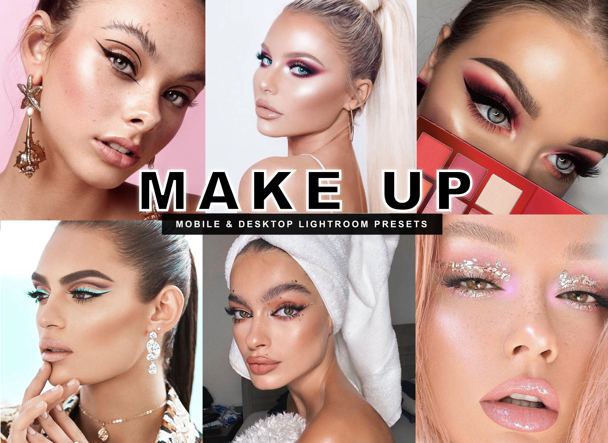 7 Makeup Mobile Lightroom Presets for Beauty Bloggers