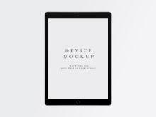 Device Mockup #477 | iPad PSD + Smart Object