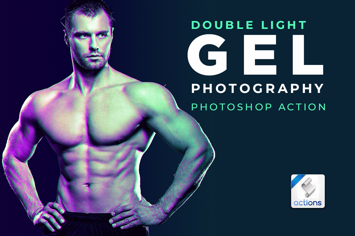 Dual Lighting Gel Photoshop Actions