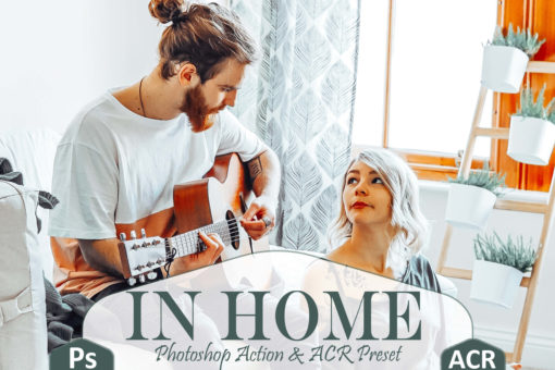 10 In Home Photoshop Actions and LUTs