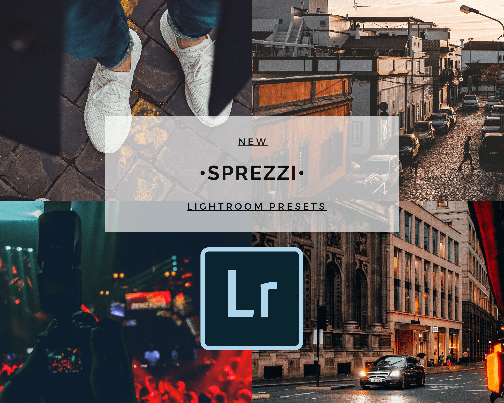 6 Sprezzi Moody Lightroom Mobile Presets (Travel, Food, Fashion)