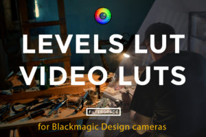Levels LUT - Video LUTs for Blackmagic Design Cameras
