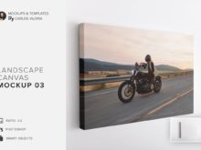 Landscape Canvas Ratio 3x2 Mockup 03