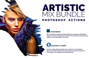Artistic Mix Bundle Photoshop Actions