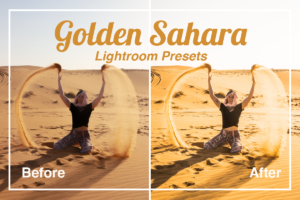Golden Sahara Lightroom Presets