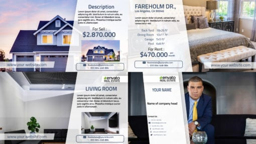 Real Estate Property Virtual Tour Promo AE Template