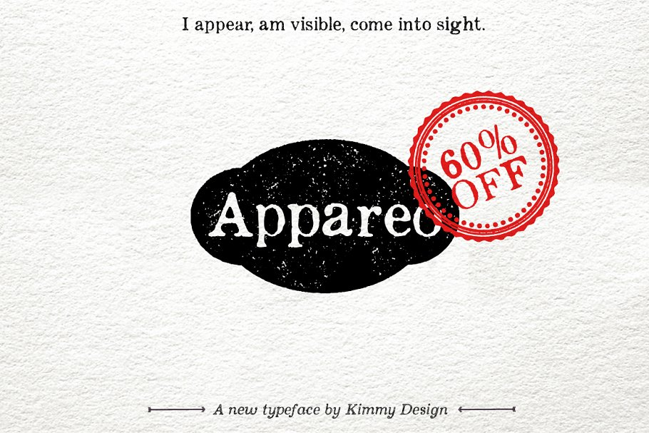 appareo all typeface