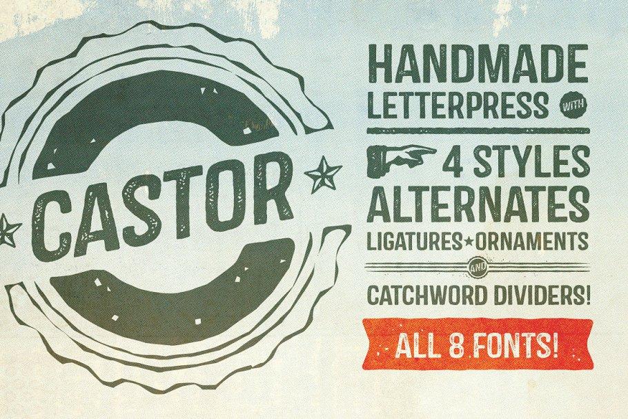 castor font