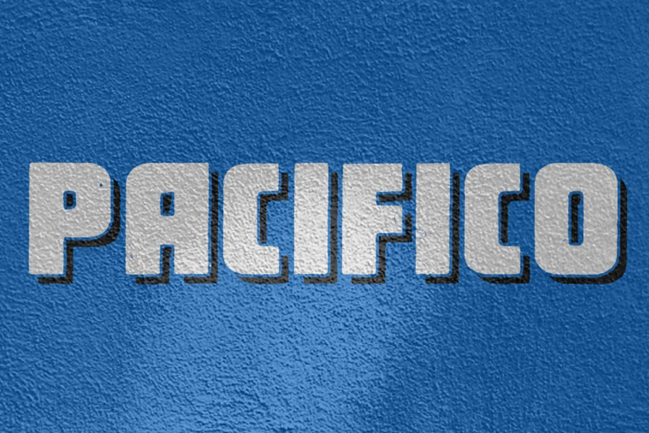 pacifico typeface