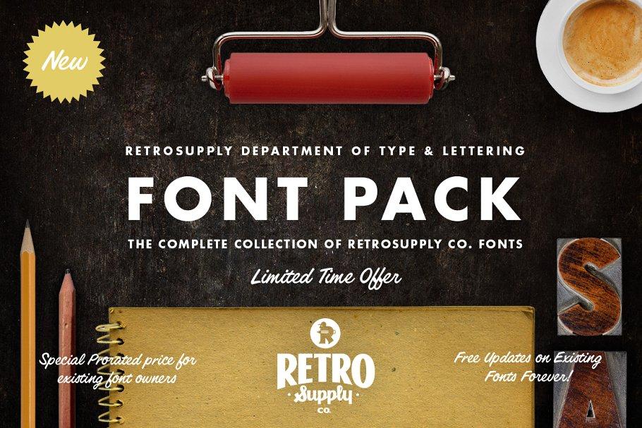 retrosupply font pack