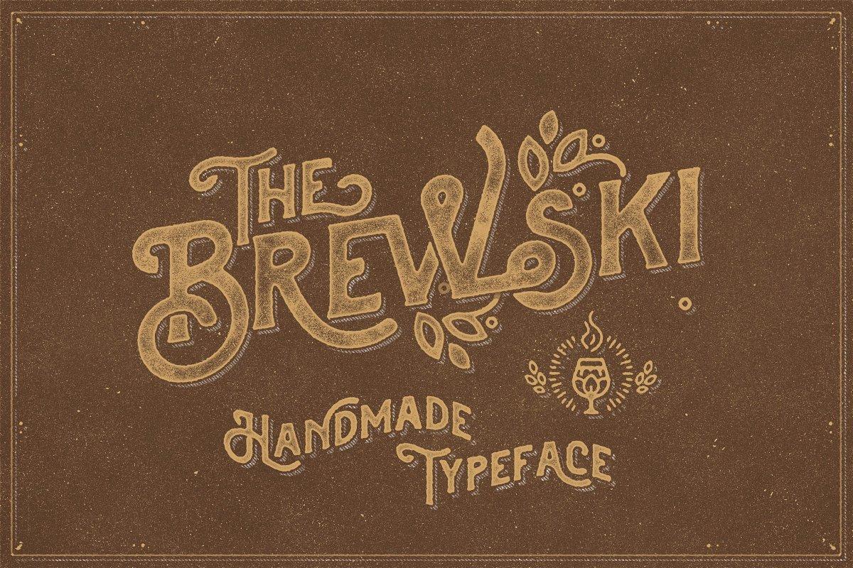 brewski typeface