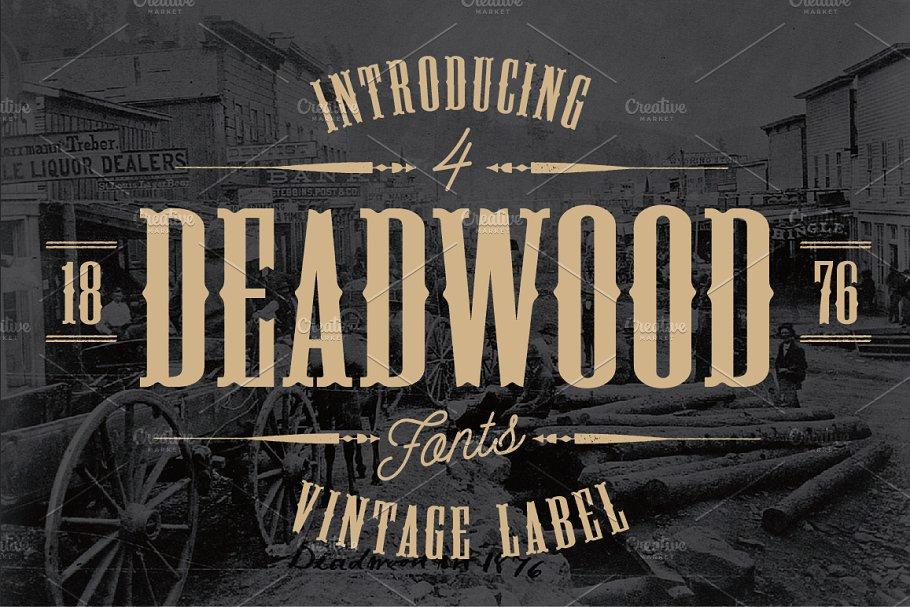 deadwood typeface
