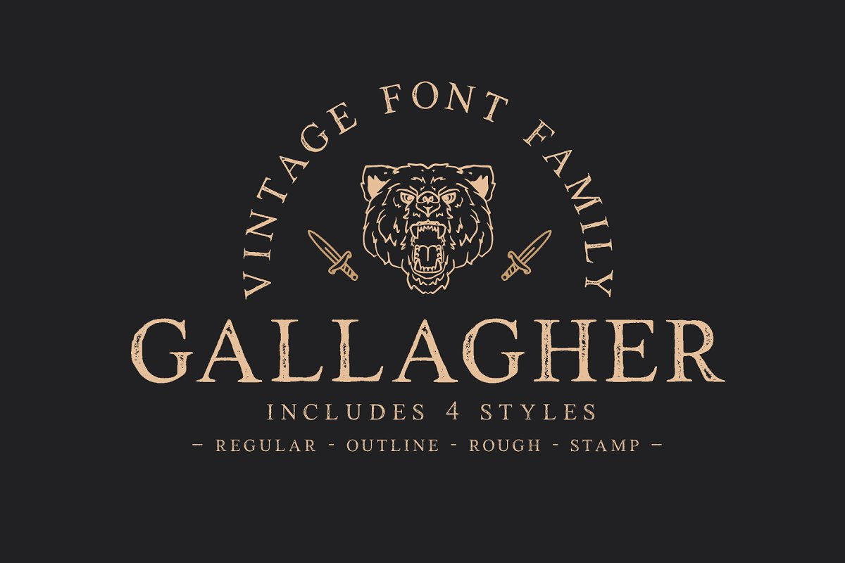 gallagher typeface
