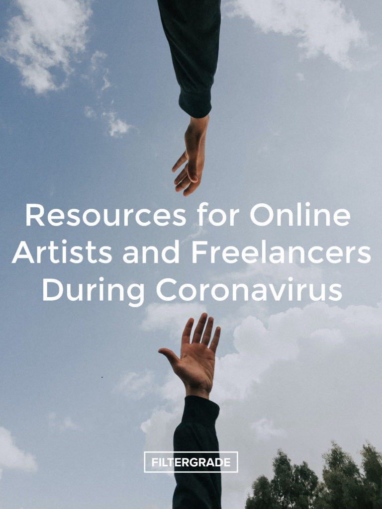 Resources for Online Artists and Freelancers During Coronavirus - FilterGrade