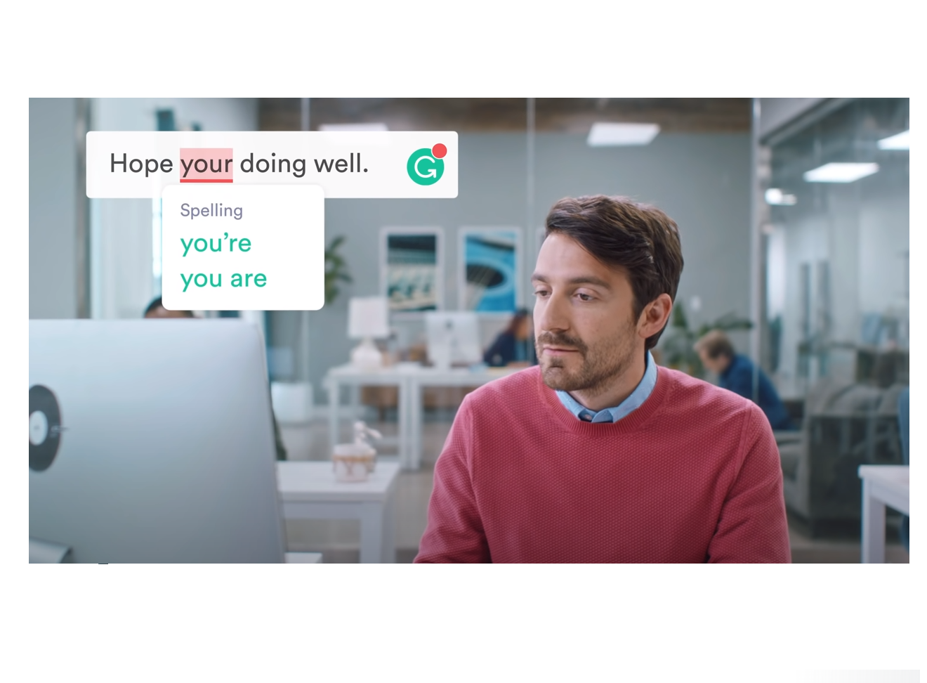 grammarly commercial