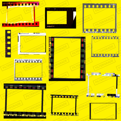 35MM FILM BORDERS - FILTERGRADE copy