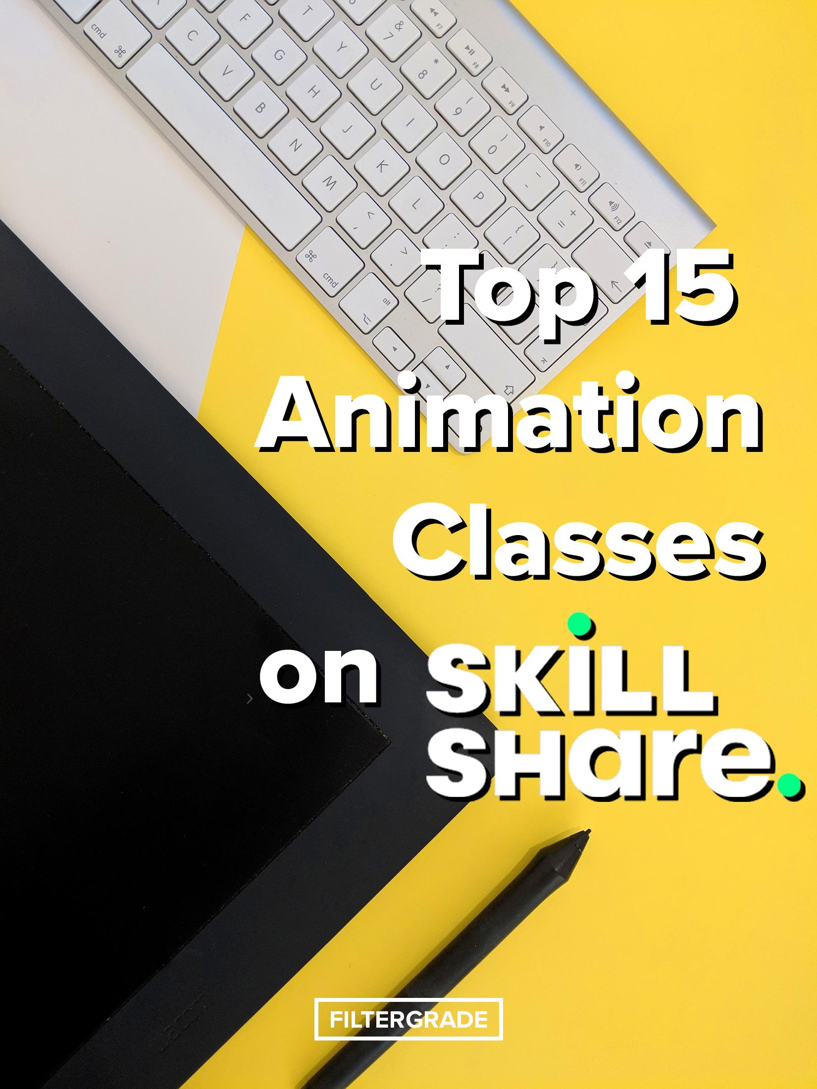 10 15 Animation Classes on Skillshare - FilterGrade