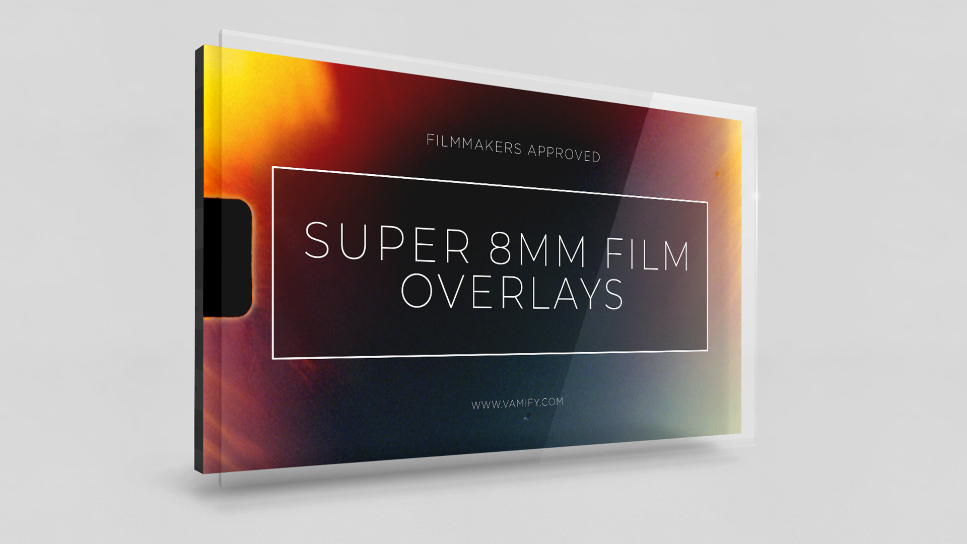 super 8mm film overlays