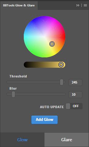 Glow & Glare UI