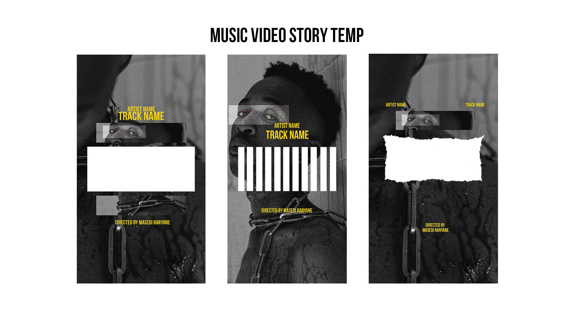 music video template pack