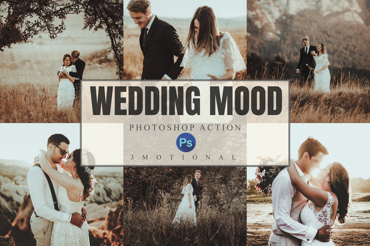 wedding mood photoshop actions