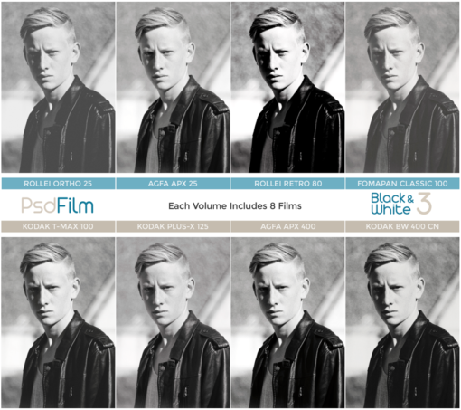black and white film emulation ps actions from psdfilm