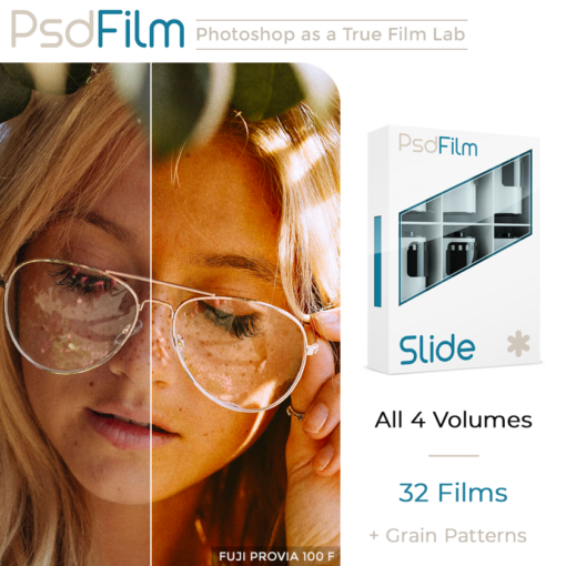 SLIDE Films Emulation Photoshop Actions by PsdFilm